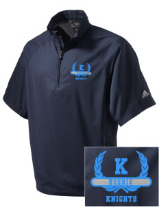 Koenig Elementary School Knights Embroidered adidas Men's ClimaProof Wind Shirt