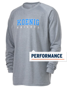 Koenig Elementary School Knights Men's Ultimate Performance Long Sleeve T-Shirt
