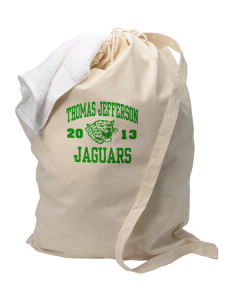 Thomas Jefferson Elementary School Jaguars Laundry Bag