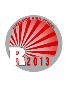 Riverside High School Rebels Sticker