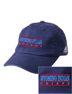 Wyoming Indian High School Chiefs Embroidered adidas Relaxed Cresting Cap