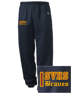 Star Valley High School Braves Embroidered Champion Men's Sweatpants