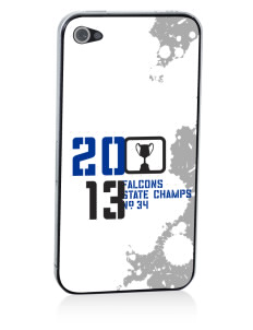 Fairdale Elementary School Falcons Apple iPhone 4/4S Skin