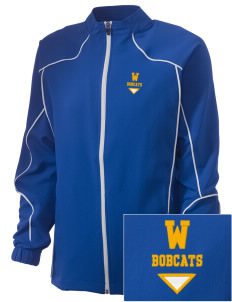 Willard Elementary School Bobcats Embroidered Russell Women's Full Zip Jacket