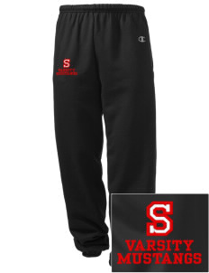 Sweetwater Intermediate School Mustangs Embroidered Champion Men's Sweatpants