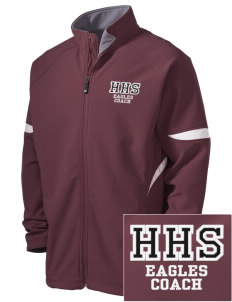 Hearne High School Eagles Holloway Embroidered Men's Radius Zip Front Jacket