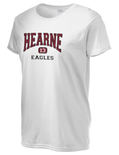 Hearne High School Eagles Women's 6.1 oz Ultra Cotton T-Shirt