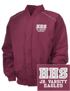 Hearne High School Eagles Embroidered Russell Men's Baseball Jacket