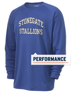 Stonegate Elementary School Stallions Men's Ultimate Performance Long Sleeve T-Shirt