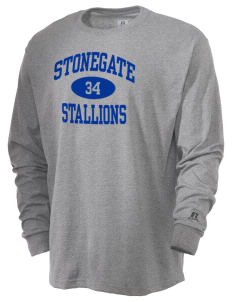 Stonegate Elementary School Stallions  Russell Men's Long Sleeve T-Shirt