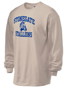 Stonegate Elementary School Stallions 6.1 oz Ultra Cotton Long-Sleeve T-Shirt