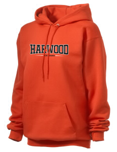Harwood Junior High School Blackhawks Unisex Hooded Sweatshirt