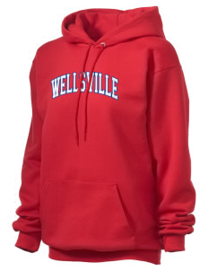 Wellsville Elementary School Warriors Unisex Hooded Sweatshirt