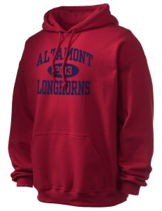 Altamont High School Longhorns Ultra Blend 50/50 Hooded Sweatshirt