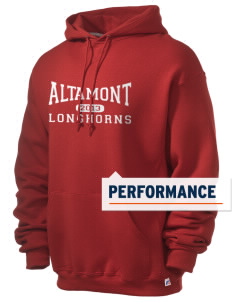 Altamont High School Longhorns Russell Men's Dri-Power Hooded Sweatshirt