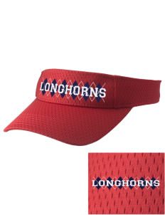 Altamont High School Longhorns Embroidered Woven Cotton Visor