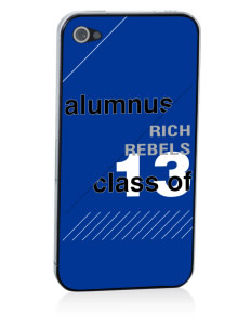 Rich High School Rebels Apple iPhone 4/4S Skin
