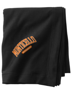 Monticello High School Buckaroos  Sweatshirt Blanket