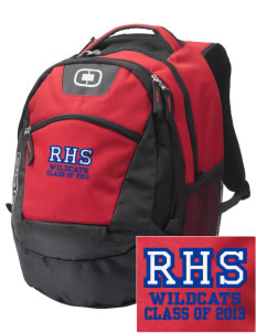 Richfield High School Wildcats Embroidered OGIO Rogue Backpack
