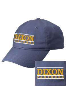 Dixon Middle School Panthers  Embroidered New Era Adjustable Unstructured Cap
