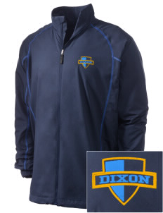 Dixon Middle School Panthers Embroidered Men's Nike Golf Full Zip Wind Jacket