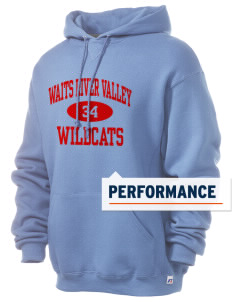 Waits River Valley Elementary School Roadrunners Russell Men's Dri-Power Hooded Sweatshirt