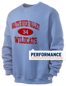 Waits River Valley Elementary School Roadrunners  Russell Men's Dri-Power Crewneck Sweatshirt