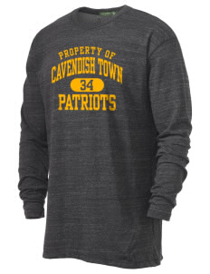 Cavendish Town Elementary School Patriots Alternative Men's 4.4 oz. Long-Sleeve T-Shirt
