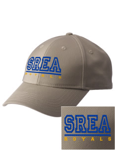 South Royalton Elementary And High Royals  Embroidered New Era Adjustable Structured Cap