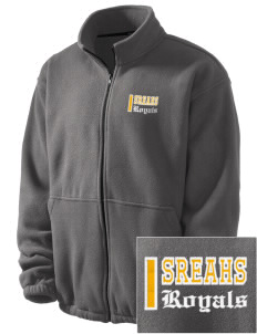 South Royalton Elementary And High Royals Embroidered Men's Fleece Jacket