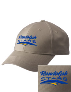 Randolph Elementary School Stars  Embroidered New Era Adjustable Structured Cap