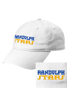 Randolph Elementary School Stars  Embroidered New Era Adjustable Unstructured Cap