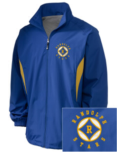 Randolph Elementary School Stars Embroidered Holloway Men's Full-Zip Jacket