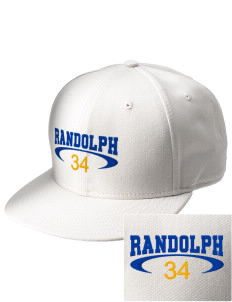 Randolph Elementary School Stars  Embroidered New Era Flat Bill Snapback Cap