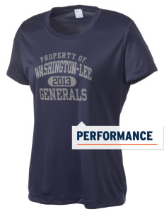 Washington-Lee High School Generals Women's Competitor Performance T-Shirt