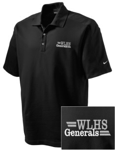Washington-Lee High School Generals Embroidered Nike Men's Dri-FIT Pique II Golf Polo