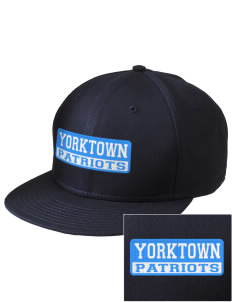 Yorktown High School Patriots  Embroidered New Era Flat Bill Snapback Cap