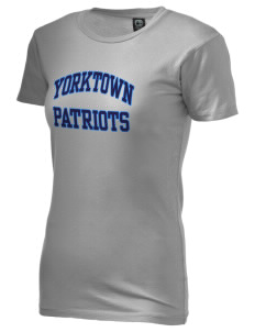 Yorktown High School Patriots Alternative Women's Basic Crew T-Shirt