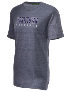 Yorktown High School Patriots Alternative Unisex Eco Heather T-Shirt