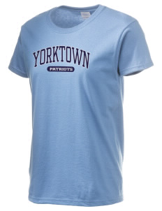 Yorktown High School Patriots Women's 6.1 oz Ultra Cotton T-Shirt
