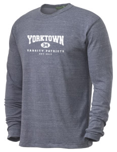 Yorktown High School Patriots Alternative Men's 4.4 oz. Long-Sleeve T-Shirt