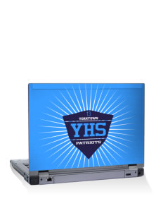 "Yorktown High School Patriots 14"" Laptop Skin"