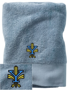 Yorktown High School Patriots Embroidered Zero Twist Resort Towel