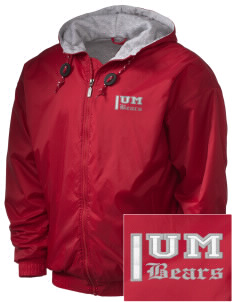Union Mill Elementary School Bears Embroidered Holloway Men's Hooded Jacket