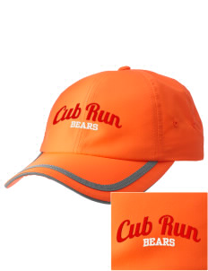 Cub Run Elementary School Bears  Embroidered Safety Cap