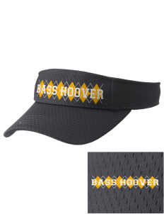 Bass Hoover Elementary School Stingers Embroidered Woven Cotton Visor