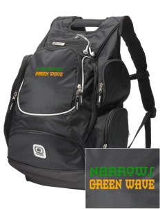 Narrows High School Green Wave  Embroidered OGIO Bounty Hunter Backpack
