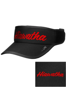 Hiawatha Elementary School Thunderbirds Embroidered Lite Series Active Visor