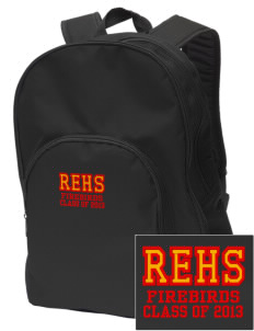 River's Edge High School Firebirds Embroidered Value Backpack