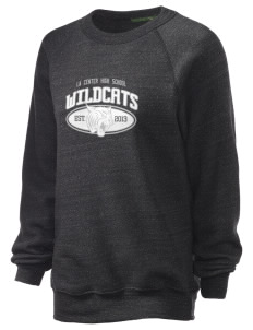 La Center High School Wildcats Unisex Alternative Eco-Fleece Raglan Sweatshirt